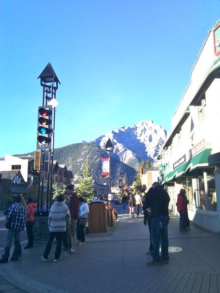 Banff Avenue 2