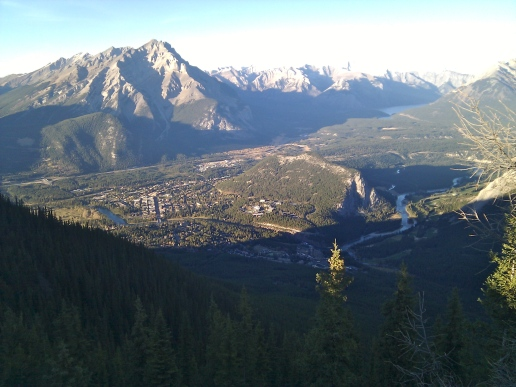 Summit of Sulphur Mountain in Banff National Park