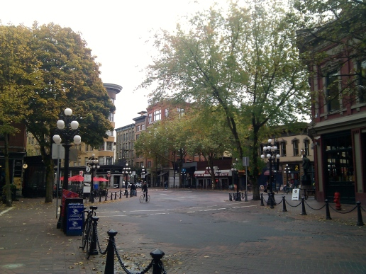Historic Gastown district.