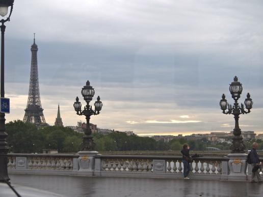 Dark Parisian Skyline