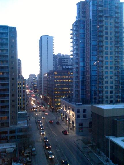 Calgary Apartment View