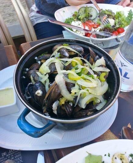 Mussels in Zeebruges, 2012
